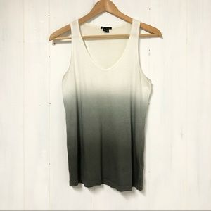 Theory Khitta Ombre Tank Top NWOT